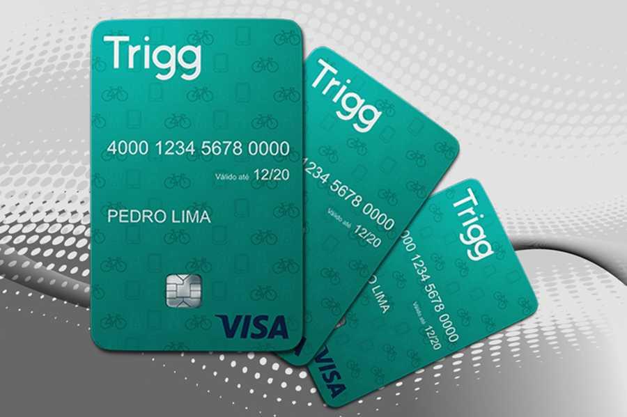 Cartão de crédito da trigg