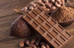 Chocolate e o cacau