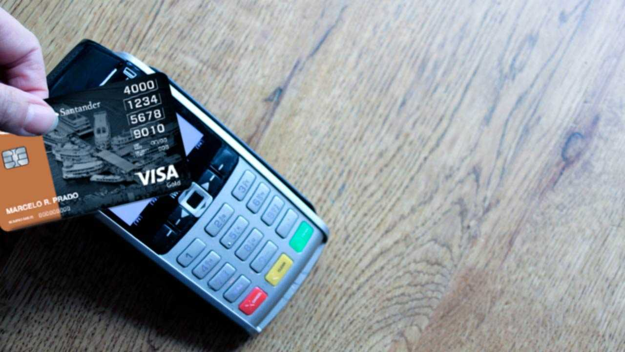 cartão de crédito Santander Smiles Gold
