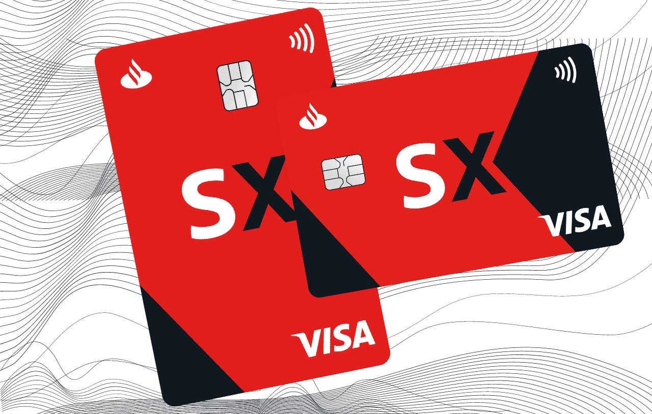 Cartão Santander SX tudo em um único cartão