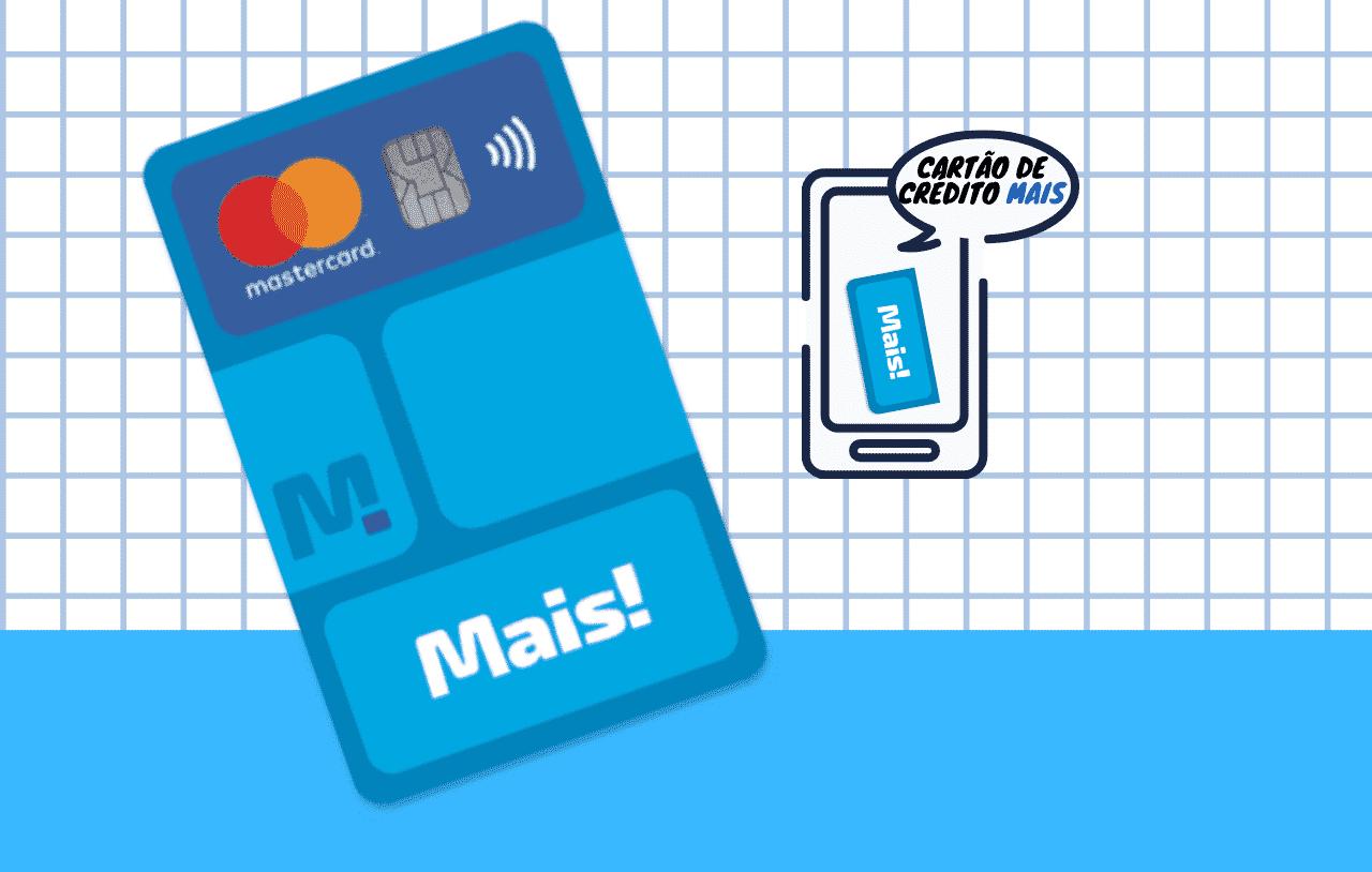 Fazer cartão de crédito Mais