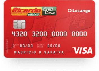 Cartão de crédito Ricardo Eletro Visa